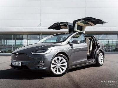begagnad Tesla Model X 100D Autopilot / SVENSKSÅLD 525hk