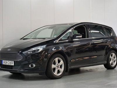 begagnad Ford S-MAX 2.0 TDCi 7-sits BT S&V Hjul