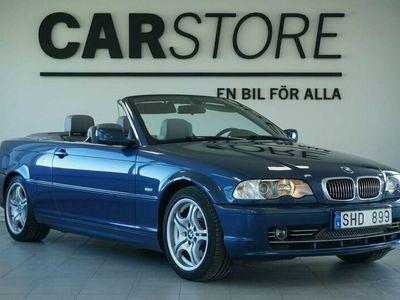 begagnad BMW 330 Cabriolet Aut Svensksåld Fullservad
