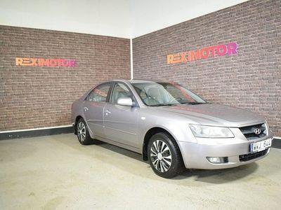 begagnad Hyundai Sonata Besiktad Automat