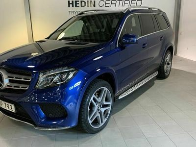 begagnad Mercedes GLS350 - Benzd AMG - Sport / Panorama 7 - sits 258hk