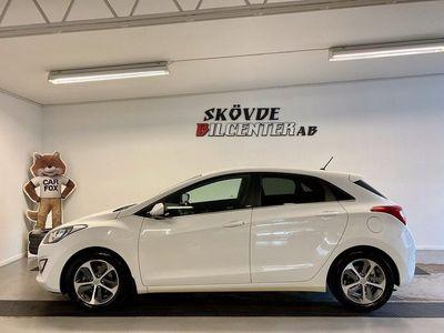 begagnad Hyundai i30 1.6CRDi Automat 1-Ägare 2017, Halvkombi 149 500 kr