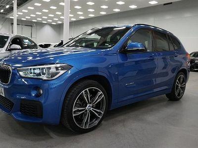 "begagnad BMW X1 xDrive20d M-Sport Drag Backkamera Komfortöppning 19"""