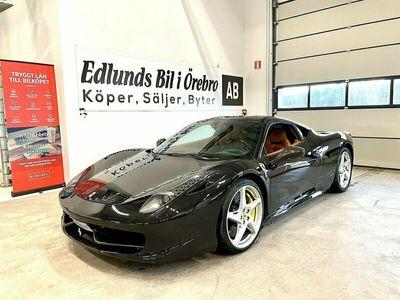 begagnad Ferrari 458 Italia 4.5 V8 DCT 570hk (2500mil)