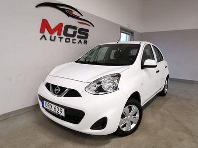 begagnad Nissan Micra 4500mil 1.2 80hk Nyskick