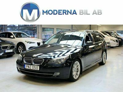 begagnad BMW 525 D TOURING AUTOMAT/DRAG/HELSKINN/M-VÄRM/PDC/197HK