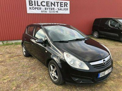 begagnad Opel Corsa 5-dörrar 1.4 90hk ny besiktad