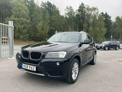 begagnad BMW X3 xDrive20d 184hk AUT Navi Skinn Backkamera Toppskick