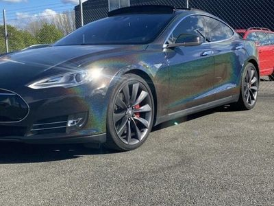 begagnad Tesla Model S P90D Ludicrous