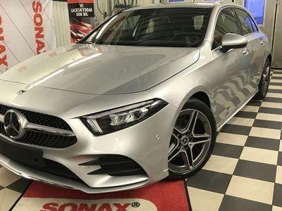begagnad Mercedes A200 200 // AMG-line // Premiumpaket