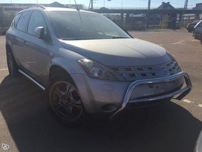 begagnad Nissan Murano fullutrustad reparationsobjekt -05