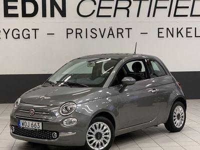 begagnad Fiat 500 LOUNGE 1,2 L 69 HK ÅRS-SKATT 448 KR