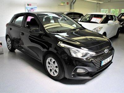 begagnad Hyundai i20 1.2 Euro 6 75hk bensin, manuell