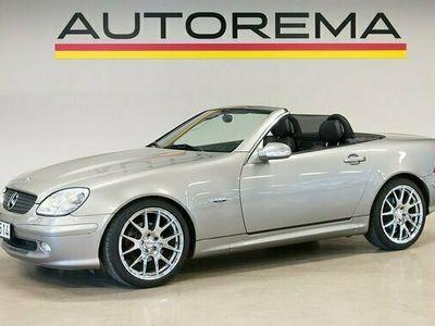 begagnad Mercedes 200 SLK BenzKompressor FINAL EDITION 2004, Cab Pris 115 000 kr