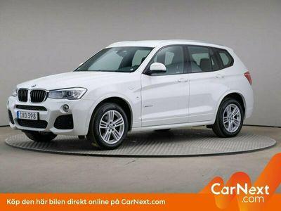 begagnad BMW X3 xDrive20d M-Sport Navi Drag Värmare