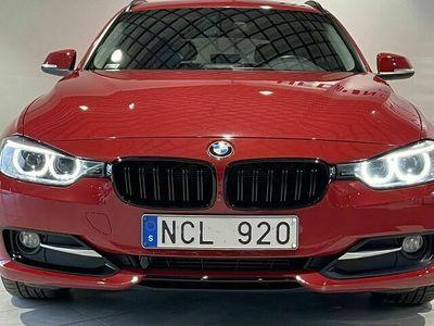begagnad BMW 320 d TOURING STEPTRONIC / / SPORTLINE / / SHADOWLINE
