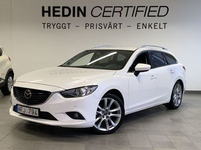 begagnad Mazda 6 2.2 D 175hk OPTIMUM / DRAG *V-hjul*