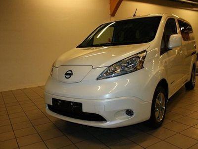 begagnad Nissan e-NV200 Evalia 7 Premium DSD Tailgate