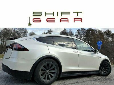 begagnad Tesla Model X 75D Ut17 AP 6sits Opticoat+Folie ObsMil FriSuC