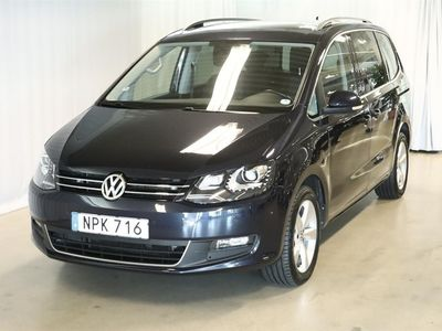 begagnad VW Sharan 2.0 TDI BlueMotion Technology (140hk)