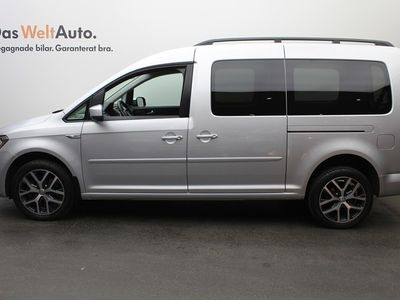 begagnad VW Caddy Maxi Life TDI150HK DSG/4M / Dragkrok