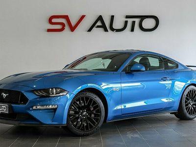 begagnad Ford Mustang GT 5.0 V8 PERFORMANCE B&O NAVI 450HK