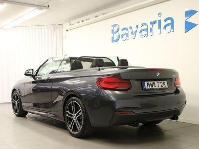 begagnad BMW M240 xDrive Cabriolet Elstol Nav Backkamera HiFi Ljud Aut