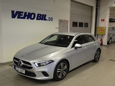 begagnad Mercedes A180 d/Automat/Se Edition/Apple Car Play/Sportstolar/Konstläderkl