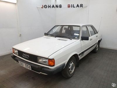 used Audi 80 CL 4-dörrar 1.6 75hk 11 952 mil -83