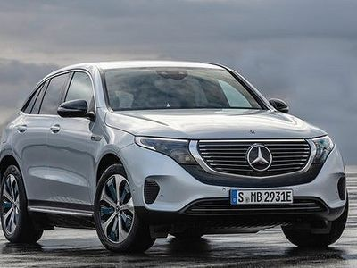 brugt Mercedes 400 EQC4-Matic SUV