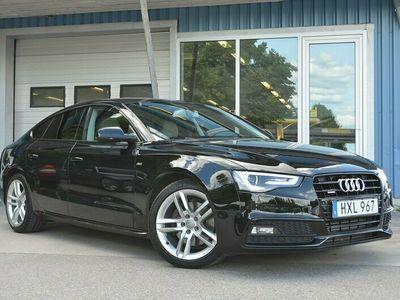 begagnad Audi A5 3.0 V6 218HK Quattro GPS Alcantara
