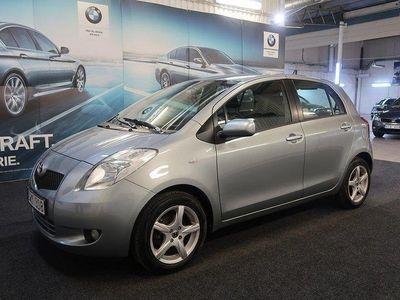 begagnad Toyota Yaris 5-dörrar 1.3 VVT-Lågamil-Välvård -09