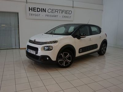 begagnad Citroën C3 1,2 Black Edition Nyservad