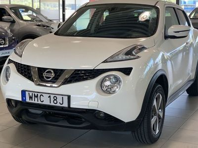 used Nissan Juke 1.6L 110hk CVT N-Connecta Part Leather