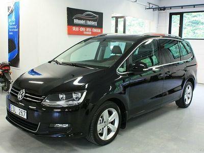 begagnad VW Sharan 2.0 TDI Premium 7-sits 140hk Panorama