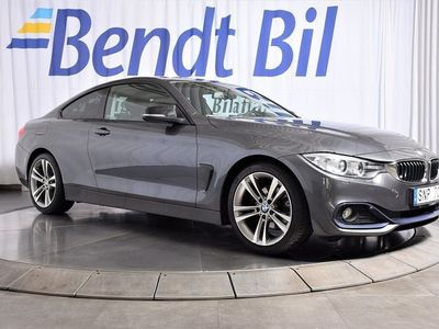 begagnad BMW 420 d Coupé Sportline 184hk / AUT