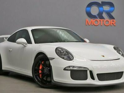 begagnad Porsche 911 GT3 PDK Svensksåld Clubsport 475hk