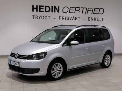 begagnad VW Touran 1.4 TSI 7-SITS, 140hk, 2014