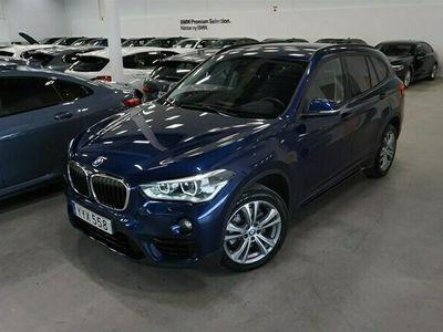 begagnad BMW X1 20d xDrive Sportline Innvation Head UP DA+ HiFi