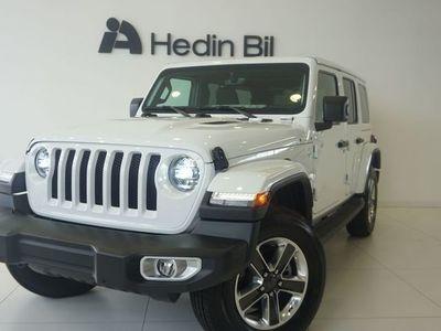 begagnad Jeep Wrangler Unlimited Sahara 2.0 273hk 4WD