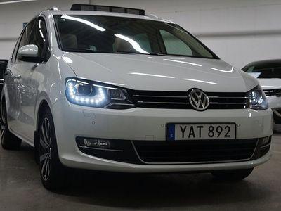käytetty VW Sharan TDI DSG 184HK Panorama Premium, 7-Sits Drag