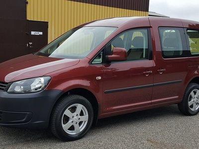 begagnad VW Caddy Maxi Life Caddy Life 1,6TDI 5sits Trendline 2014, Personbil 145 000 kr