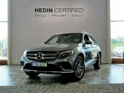 begagnad Mercedes GLC350 - BenzE 4MATIC AMG / MINNESPAKET / PANORAMA / DRAG / VÄRMARE