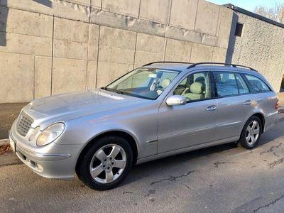 begagnad Mercedes E200 163hk kompressor AUT