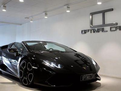 begagnad Lamborghini Huracán HuracanLP610 Spyder Svensksåld 2017, Personbil 2 149 000 kr