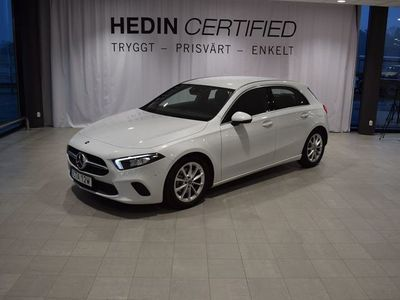 begagnad Mercedes A200 // Advantagepkt // Progressive line // Augmented Reality
