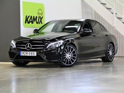 begagnad Mercedes C250 AMG Pano Night S&V-Hjul (211hk)