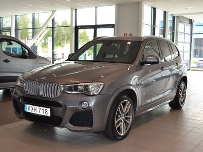 brugt BMW X3 xDrive30d M-Sport / Värmare (258hk) -15