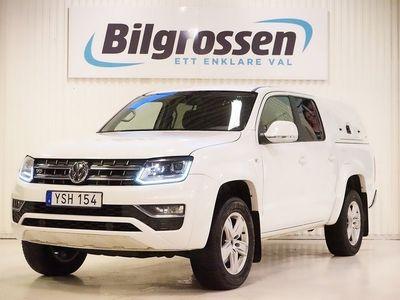 begagnad VW Amarok Dual Cab 1.99% Highline 3.0TDI 224hk D-Värm Navi Drag B-Kamera