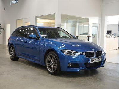 begagnad BMW 320 d xDrive Automat / M-sport / Dragkrok / Navigation / Läderklädse